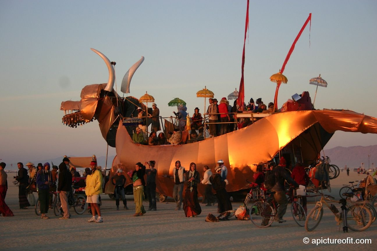 Art Cars At Burning Man Picture It