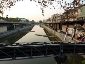 Bangkok Canal Khlong Phadung Krung Kasem