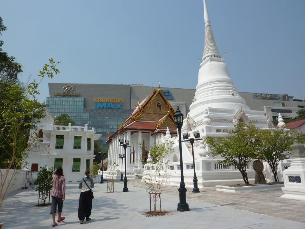 About BTS Bangkok Thailand Airport Map: Wat Pathum Wanaram ...