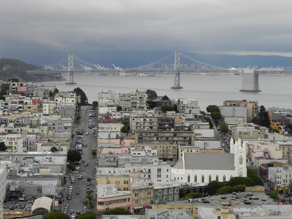 San Francisco, view from Russian Hill