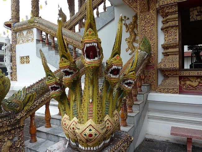 Naga at Wat Mahawan