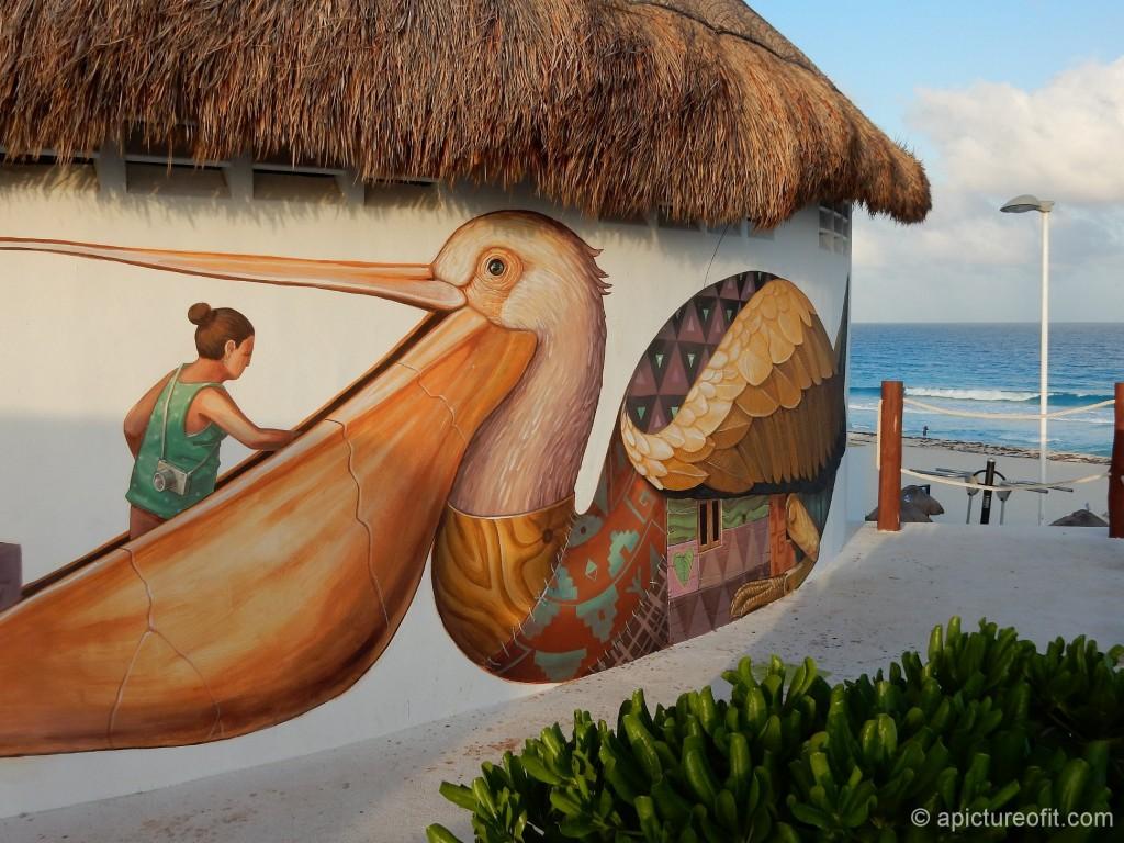 Playa Delfines, Cancun - baño at Municipal Beach