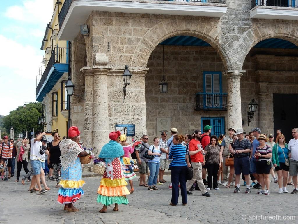 The Disneyland-ish Plaza de la Catedral, Habana Vieja