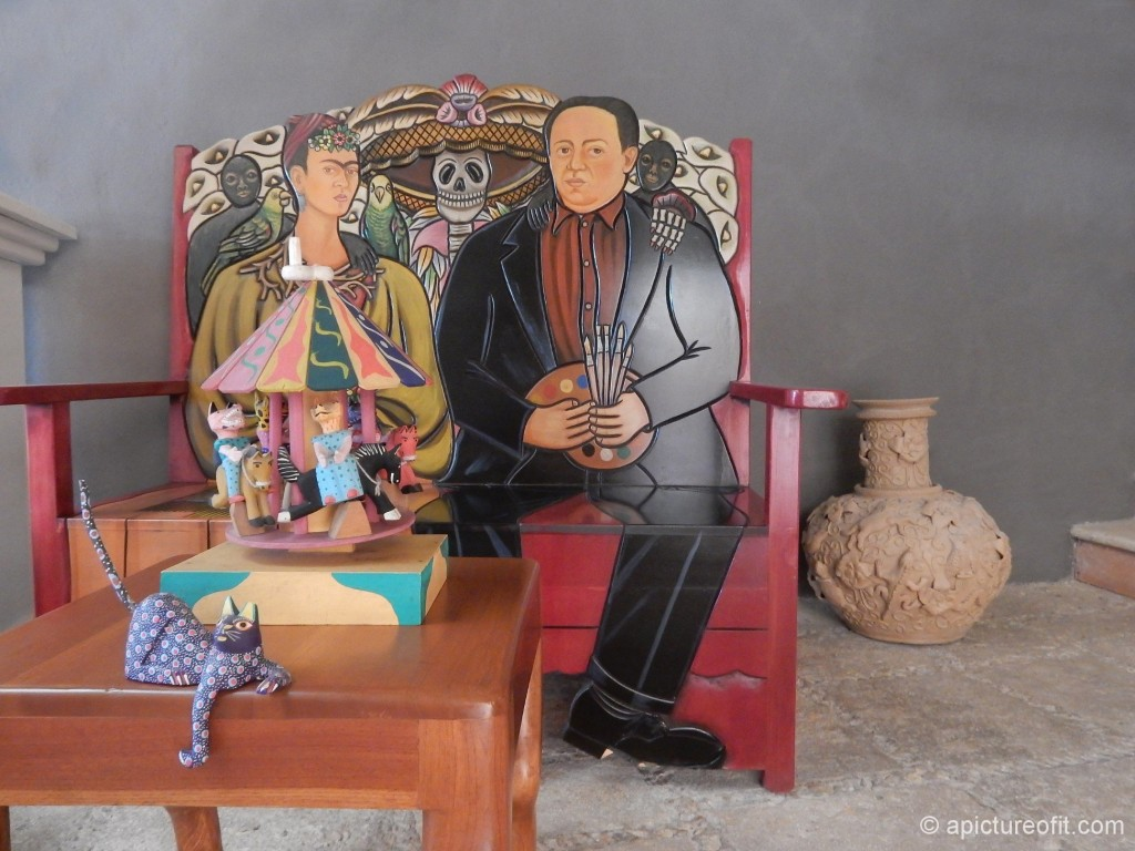 Frida Kahlo and Diego Rivera are legendary, iconic, in Mexican Art